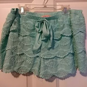 Rebellious One Lace Shorts